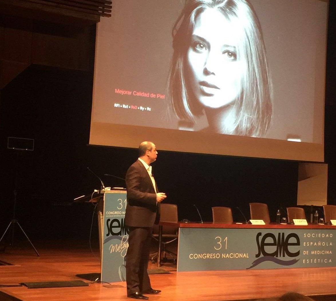 Moisés Amselem presenta su Luminous face en el XXXI Congreso SEME