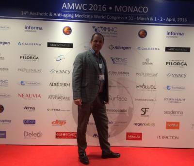 Participamos en el Antiaging Medicine World Congress Montecarlo (Mónaco)