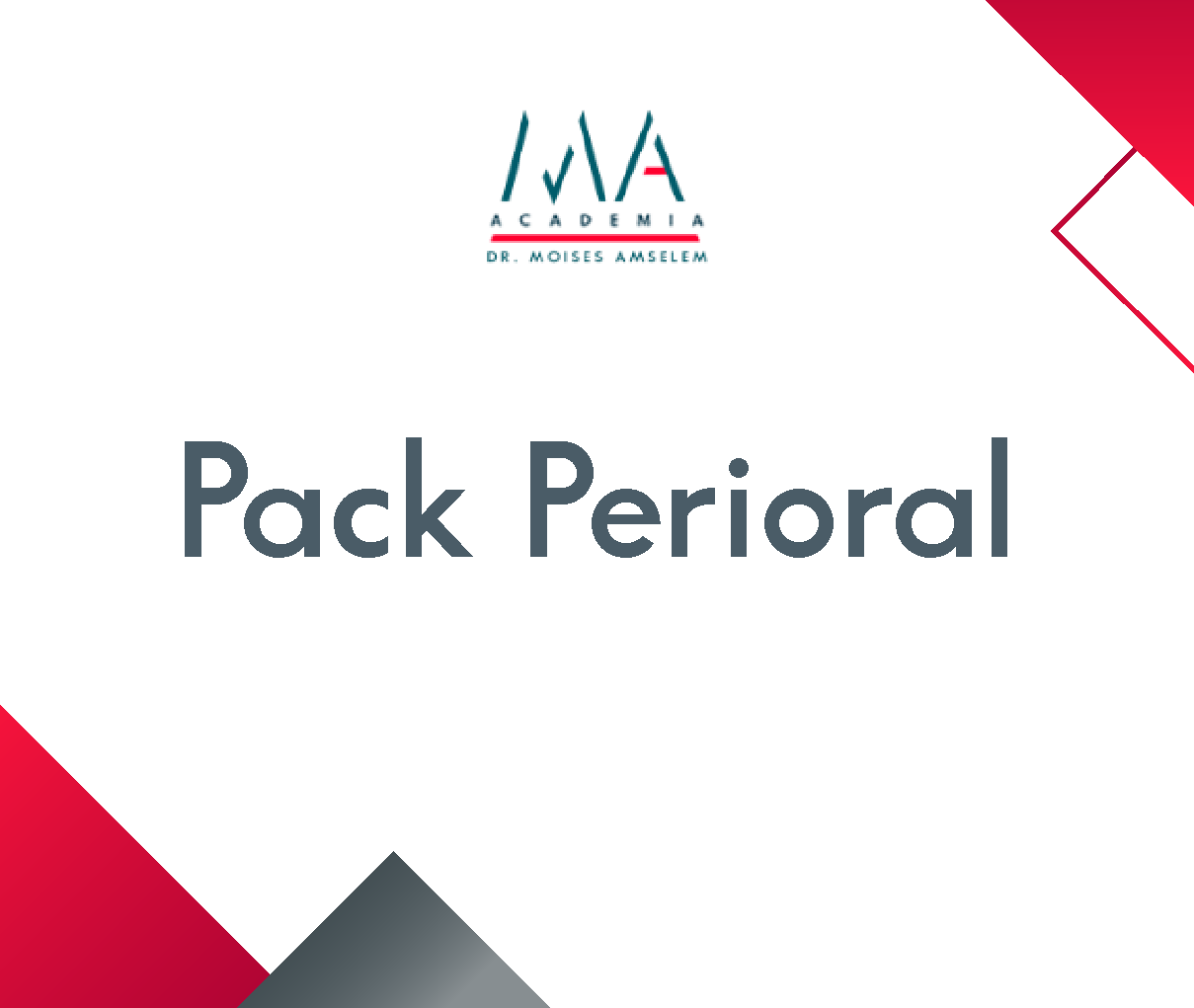 curso pack perioral